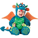 InCharacter Baby Dinky Dragon Costume, Teal/Green, Medium (12 - 18 Months)