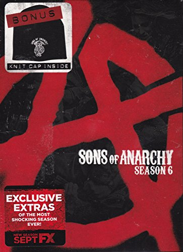 Sons of Anarchy Season 6 with Bonus Collectible Knit Cap