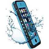 Patec® Waterproof Shockproof Dirt Snow Proof Case Cover for Apple iPhone 5C - Blue