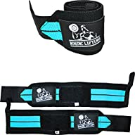 Wrist Wraps (1 Pair/2 Wraps) for Weightlifting/Crossfit/Powerlifting/Bodybuilding – For Women & Men…