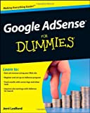 Jerri L. Ledford Google AdSense For Dummies