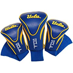 NCAA UCLA Bruins 3 Pack Contour Golf Club Headcover by Team Golf