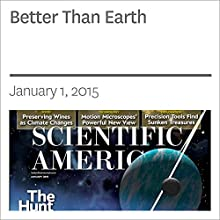 Better Than Earth (       UNABRIDGED) by Rene Heller Narrated by Mark Moran