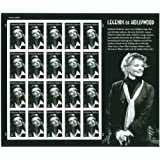 Katharine Hepburn Legends of Hollywood Complete Sheet of 20 x 44 Cent Stamps - 4461