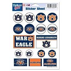 Buy Auburn Tigers Official NCAA 5x7 Sticker Sheet by WinCraft