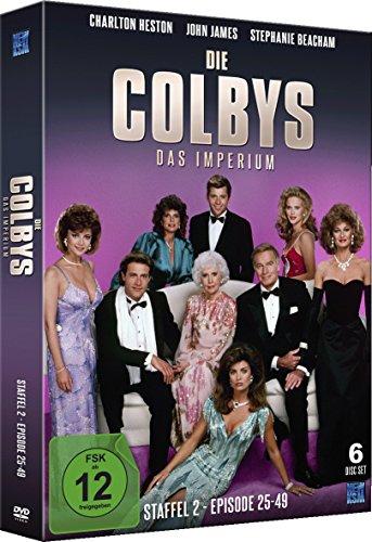 Die Colbys - Das Imperium (Staffel 2: Episode 25-49 im 6 Disc Set)