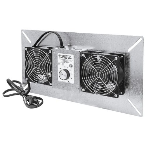 Tjernlund UnderAire Crawl Space Ventilator - Deluxe Two-Fan, 220 CFM, Model# V2D at Sears.com