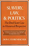 Image of Slavery, Law, and Politics: The Dred Scott Case in Historical Perspective (Galaxy Books)