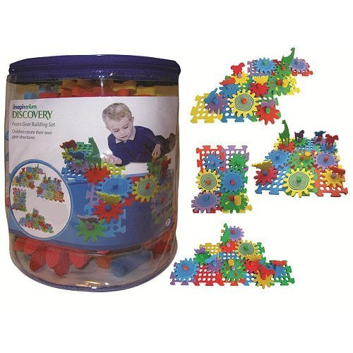 Imaginarium 36 Piece Animal Zoo Gears Building Set