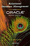 img - for Relational Database Management With Oracle book / textbook / text book
