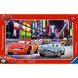 Ravensburger 06006 Cars 2 - Puzzle con diseño de Rayo McQueen y Finn McMissile (15 piezas)