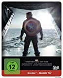 The Return of the First Avenger Steelbook - 3D + 2D  [3D Blu-ray]