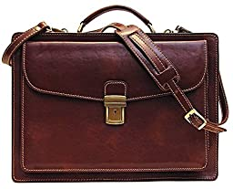 Corsica Leather Laptop Briefcase