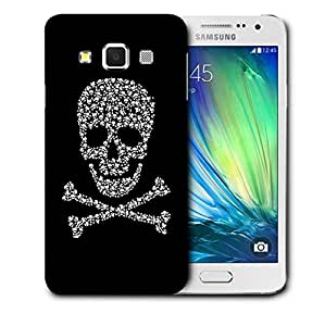 Snoogg Danger Zone Skull Designer Protective Back Case Cover For SAMSUNG GALAXY A3