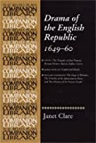 img - for Drama of the English Republic, 1649-1660: Plays and entertainments (Revels Plays Companion Library MUP) book / textbook / text book