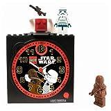 StarWars(スターウォーズ)LEGO レゴ 目覚まし時計(スターウォーズクロック)CLKSTW1