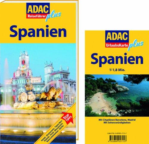 ADAC Reiseführer plus Spanien: Mit extra Karte