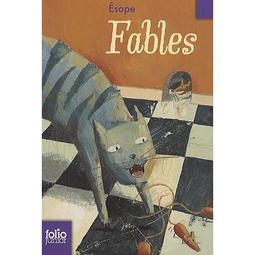 Les fables d'Esope et de La Fontaine