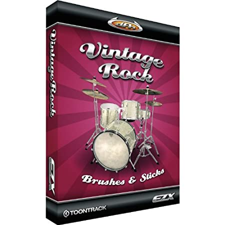 Toontrack Vintage Rock Brushes and Sticks EZX Sample Library