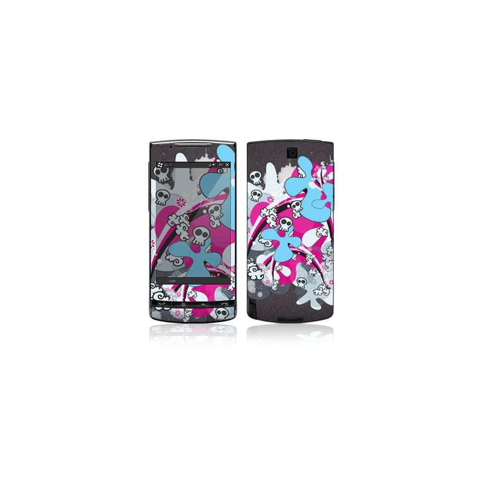 Paint Splash Protective Skin Cover Decal Sticker for HTC Pure Cell Phone