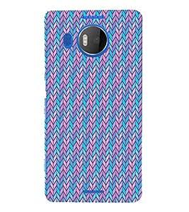 Blue Arrow Cross Cute Fashion 3D Hard Polycarbonate Designer Back Case Cover for Microsoft Lumia 950 XL :: Microsoft Lumia 950 XL Dual SIM