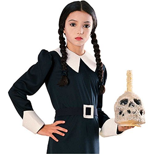 Wednesday Addams Wig Costume Accessory