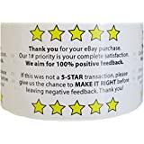 "Evelots 1 Roll Of Ebay Feedback/Thank you For Your Purchase 250 Labels 2"" X 3"""
