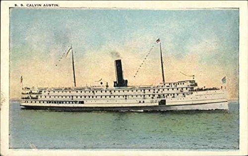 S. S. Calvin Austin Steamers Original Vintage Postcard (Austin Steamers compare prices)