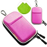 New first2savvv heavy duty pink camera case for Nikon COOLPIX S9700 with LENS Cleaning Cloth