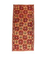 Kilim Carpets by Jalal Alfombra (Rojo/Ocre)