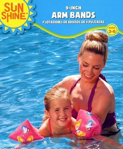 Sunshine 9 Inch Arm Bands - Butterflies
