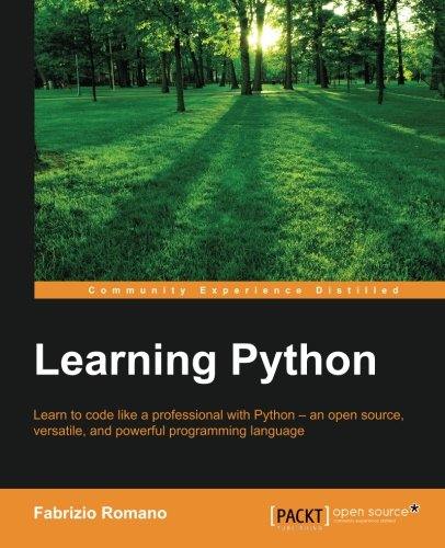 Learning Python, by Fabrizio Romano