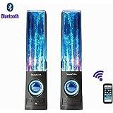 SoundSOUL Fountain Dancing Bluetooth Speakers, Black