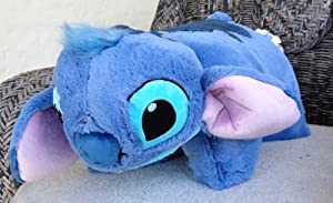 Disney Educational Products - Disney Stitch Pillow Pal Pet Plush Doll - Disney Theme Park Authentic from Disney