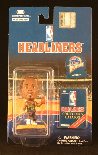 JOE SMITH / GOLDEN STATE WARRIORS * 3 INCH * 1997 NBA Headliners Basketball Collector Figure