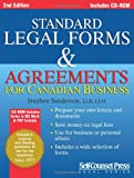 Standard Legal Forms and Agreements for Canadian Business: Prepare your own legal documents