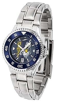 buy Naval Academy Midshipmen Women'S Stainless Steel Dress Watch