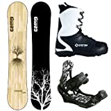 System 2017 Flite Snowboard w/Mystic Bindings and Lux Boots Women's Complete Snowboard Package