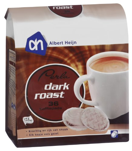 Perla Coffee Pods Dark Compatible With Senseo Machines - 5 Pack (5 X 36 Pods)