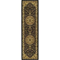 Safavieh Lyndhurst Collection LNH222A Black and Ivory Runner, 2 feet 3 inches by 6 feet (2\'3\