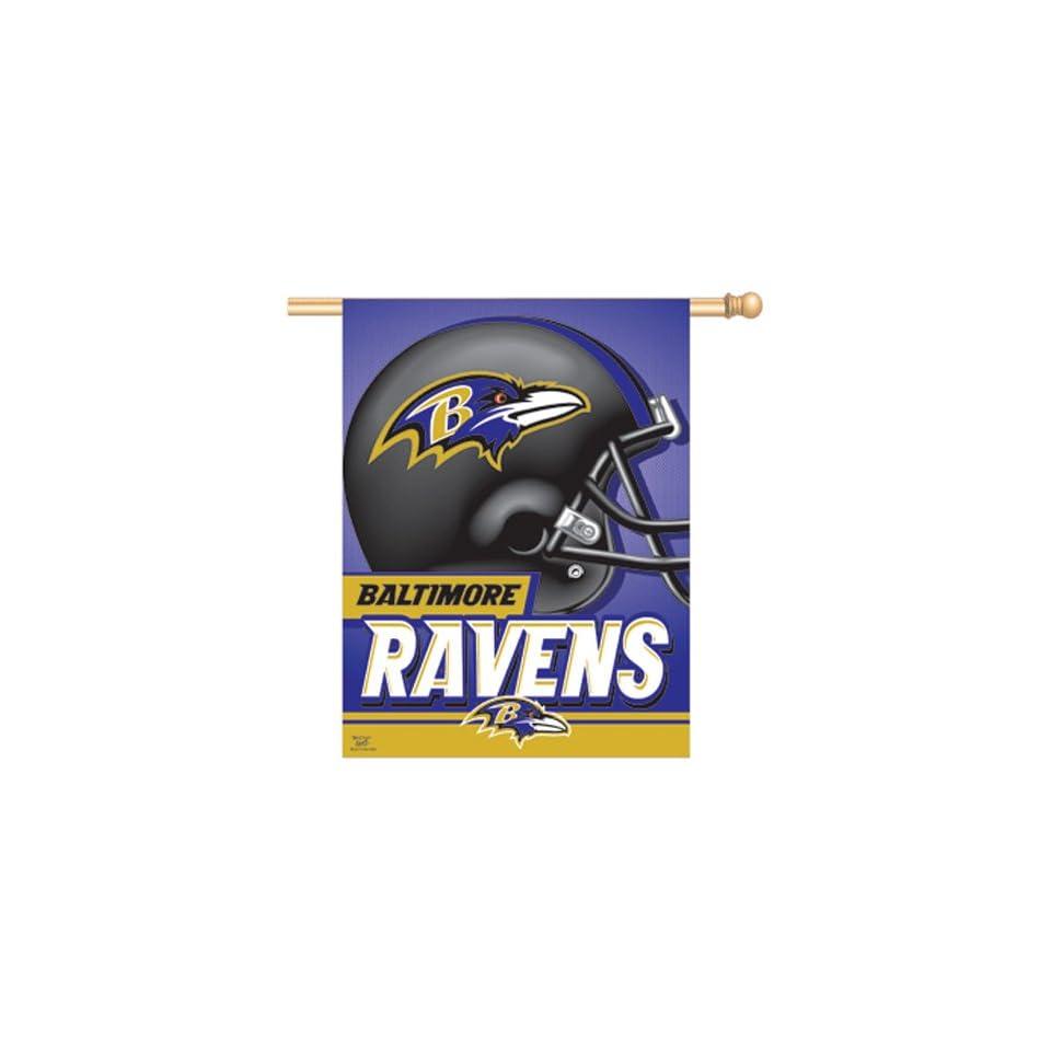 Baltimore Ravens NFL Vertical Flag