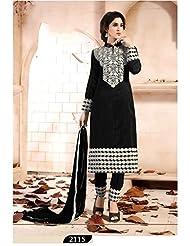 Typify Chanderi Semistitch Dress Material - B01868GDDK
