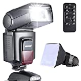 Neewer-Photo-TT520-Speedlite-Flash-Kit-for-Canon-Nikon-Olympus-Fujifilm-and-any-Digital-Camera-with-a-Standard-Hot-Shoe-Mount-Includes-Neewer-Flash-Softbox-Flash-Diffuser-Universal-Wireless-Camera-IR-
