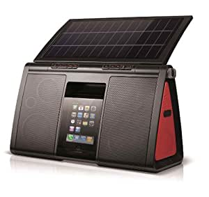 Eton Soulra XL Solar Powered Sound System for iPod and iPhone - (NSP500B)