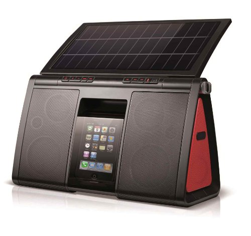 Eton Soulra XL Solar Powered for iPod and iPhone - (NSP500B)