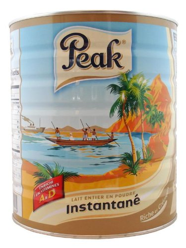 Peak Instant Full-Cream Milk Powder, 900-Grams