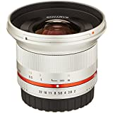 Samyang SY12M-NX-SIL 12mm F2.0 Ultra Wide Angle Lens For Samsung NX Cameras, Silver