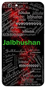 Jalbhushan (Ornament Of Water ( Means Wind)) Name & Sign Printed All over customize & Personalized!! Protective back cover for your Smart Phone : Moto X-Play