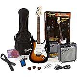 Squier Affinity Strat Pack with Fender Frontman 10G - Brown Sunburst