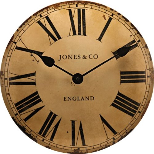 Black Kitchen Clock Argos: HSB Bundle Jones By Newgate Classic Curved Convex Wall